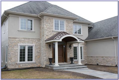 Exterior paint colors with stone | Hawk Haven