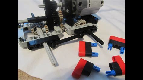 Lego Technic: Small 6x6 Trial Truck Instructions - YouTube