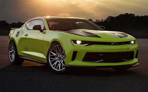 2016 Chevrolet Camaro Turbo AutoX Concept - Wallpapers and