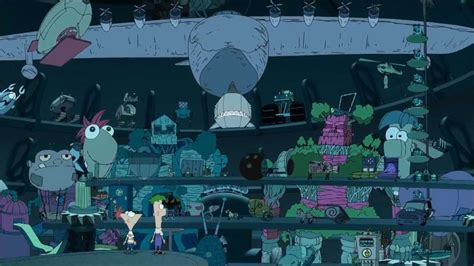 Phineas and Ferb Across the 2nd Dimension - DVD Deleted