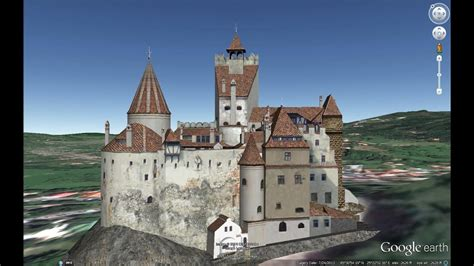 HISTORICAL PLACES OF ROMANIA IN GOOGLE EARTH PART SIX ( 6