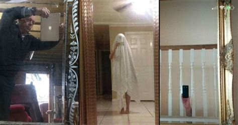 21 Pictures of People Trying to Take Photos of Mirrors