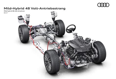 2018 Audi A8 48-volt electric system previewed, debuts